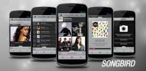 скачать Songbird Android Music Player