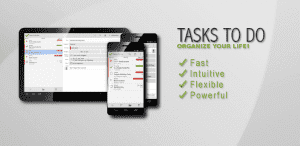 Tasks To Do Pro, Список задач