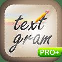 скачать Textgram Pro apk