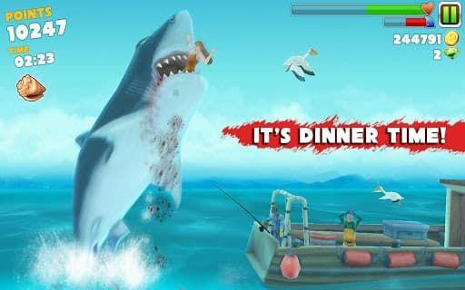 Скачать игры на андроид акула 4