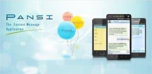 Pansi - Быстрое SMS приложение