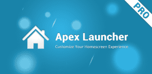 Apex Launcher Pro Android
