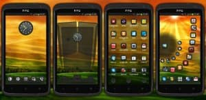 Next Launcher Sense Theme (тема HTC)