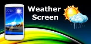 Экран-Погода Android