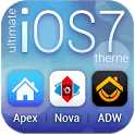 скачать Ultimate iOS7 - тема айфона 7