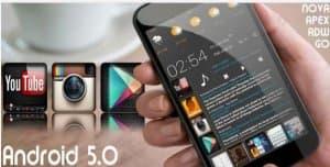 Обнови Android 5.0 ADW GO APEX NOVA