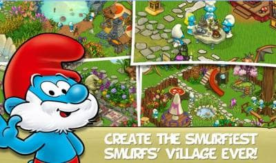 Smurfs' Village Magical Meadow (деревня смурфов 2)