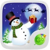 скачать Snowman GO Keyboard Theme apk