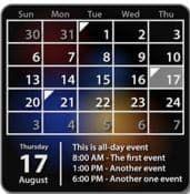 Виджет Календарь для андроид бесплатно apk