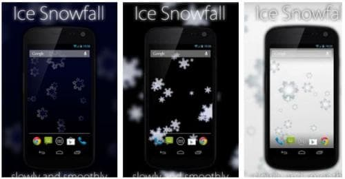 Ice Snowfall Live Wallpaper