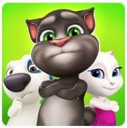 скачать Talking Tom Bubble Shooter apk