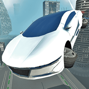 скачать Futuristic Flying Car Driving