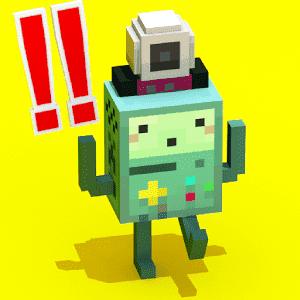 скачать Crossy Robot : Combine Skins apk