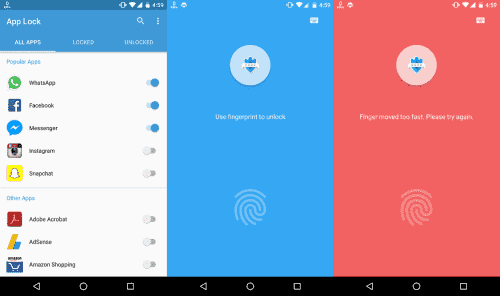App Lock: Fingerprint&Password