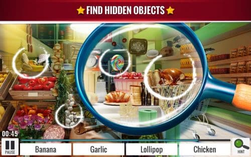 Hidden Objects Grocery Store