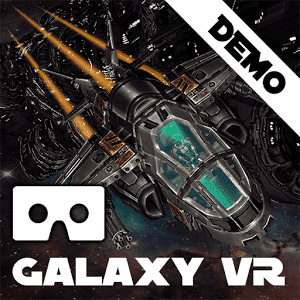 скачать Galaxy VR Cardboard Space FPS