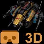 скачать Cardboard 3D VR Space FPS apk
