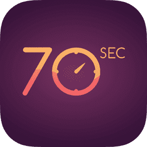 70 seconds