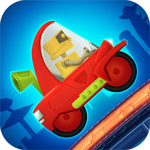 скачать Cute Robot Car Racing apk