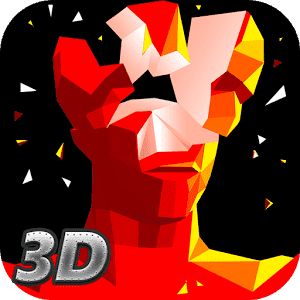 скачать Red Superhot Shooter 3D