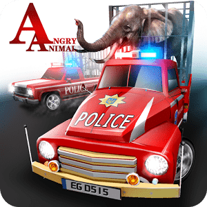 скачать Angry Animals Police Transport