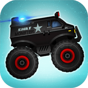 скачать Monster Truck Police Racing