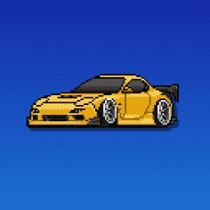 скачать Pixel Car Racer apk