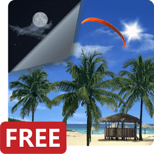 скачать Beach Palms 3D Live Wallpaper
