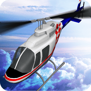 Вертолет Flight Simulator 3D