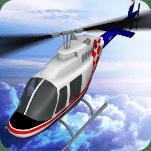скачать Вертолет Flight Simulator 3D