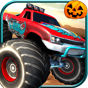 скачать Halloween Monster Truck Racing apk