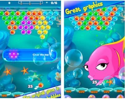 Sea Stars Bubble Shooter