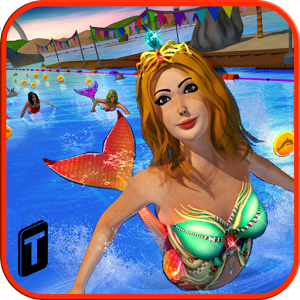 скачать Mermaid Race 2016 apk