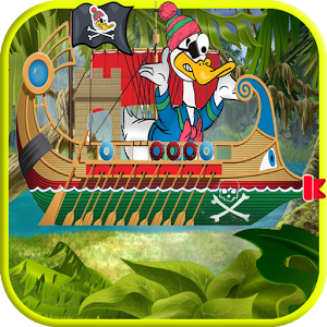 скачать Race of Pirate Bonald Duck Run apk