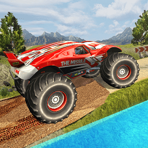 Monster Truck Hill Racing