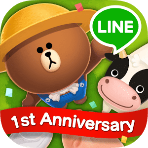 скачать LINE BROWN FARM apk