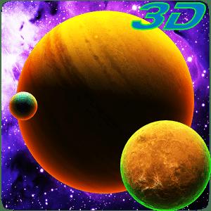 скачать Solar Planets Live Wallpaper