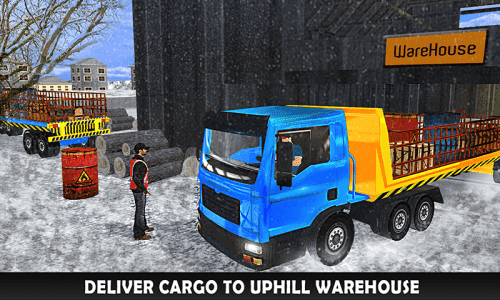 Uphill Extreme Truck Driver