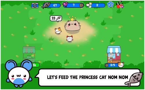 Princess Cat Nom Nom