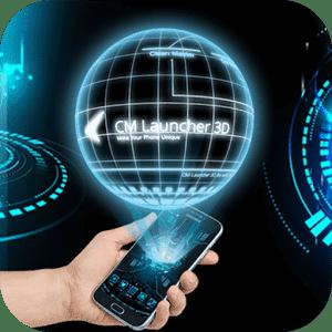 скачать 3D Tech Тема Samsung & Huawei