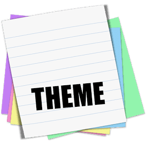 Sticky Notes Theme School