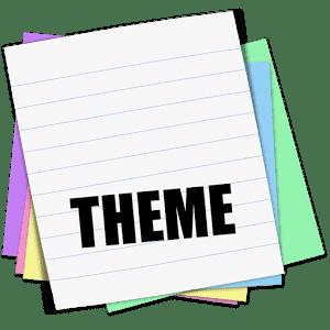 скачать Sticky Notes Theme School apk