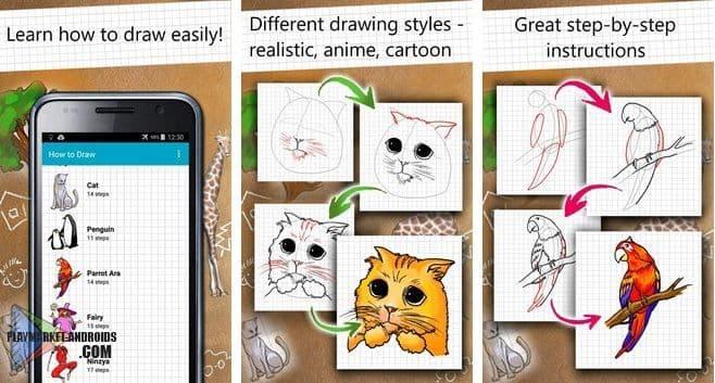 Приложение на андроид рисование поэтапно