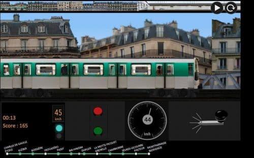 Paris Métro Simulator