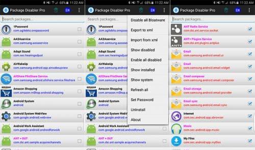 Package Disabler Pro (Samsung)