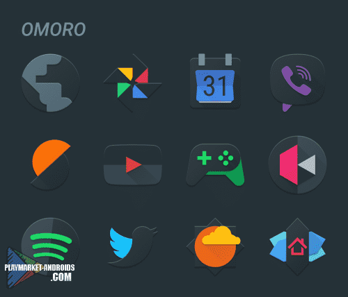 Omoro - Icon Pack