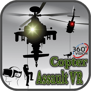 3D Copter Assault VR 360°