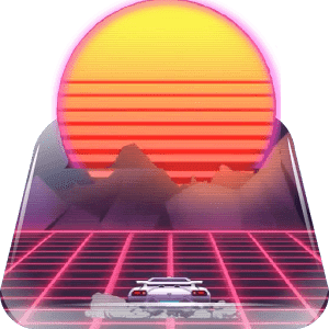 скачать Retro Game Sunset Live WP apk
