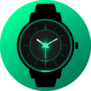 скачать Analog Glow Watch Face