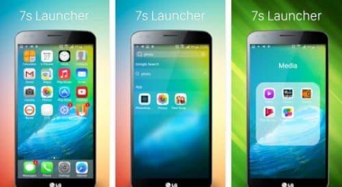 7S Phone Launcher